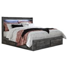 Baystorm King Panel Bed With 6 Storage Drawers