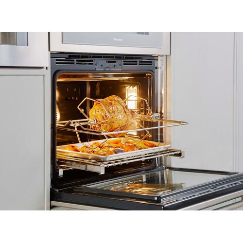 Single Wall Oven 30'' Masterpiece® Right Side Opening Door, Stainless Steel MED301RWS
