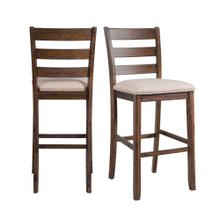 "Jax 30"" Ladder Back Bar Stool Set"