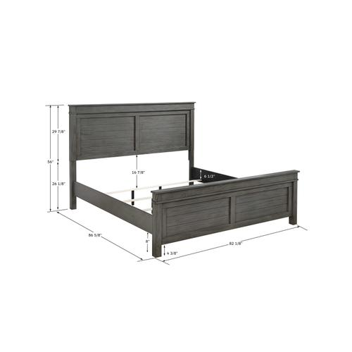 Emerald Home Furnishings - King 12-drawer Captains Bed