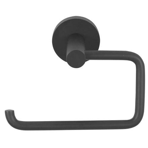 Contemporary I Single Post Tissue Holder A8366 - Matte Black