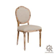 Louis Xvi Round Side Chair Frame