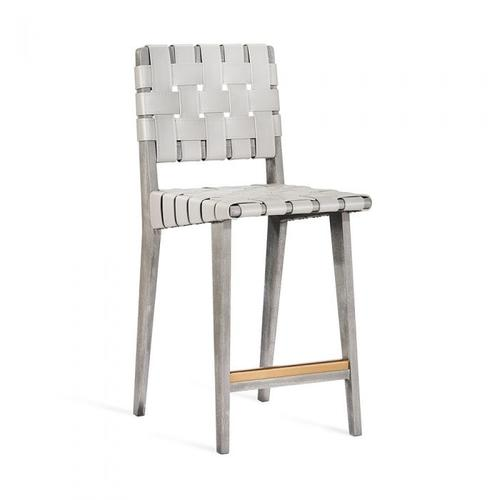 Louis Counter Stool - Grey Wash