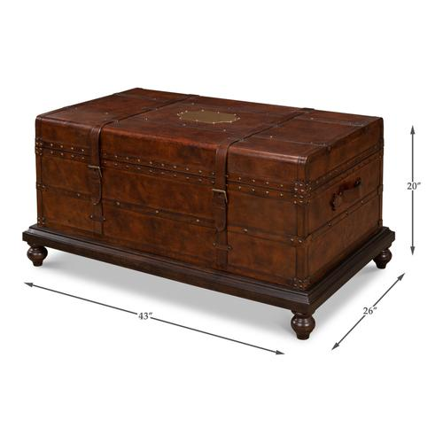 Laramie Trunk Coffee Table