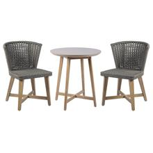 See Details - Explorer Pioneer Bistro Set - 2 Chairs + 1 Table
