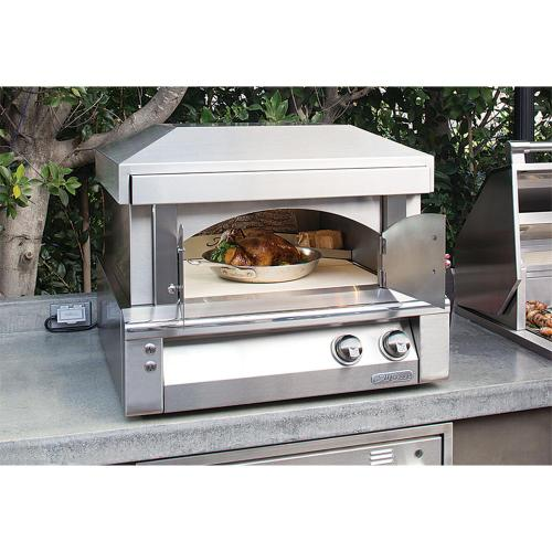 """Alfresco - 30"""" Pizza Oven for Countertop Mounting"""