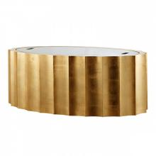 Emmeline Gold Coffee Table