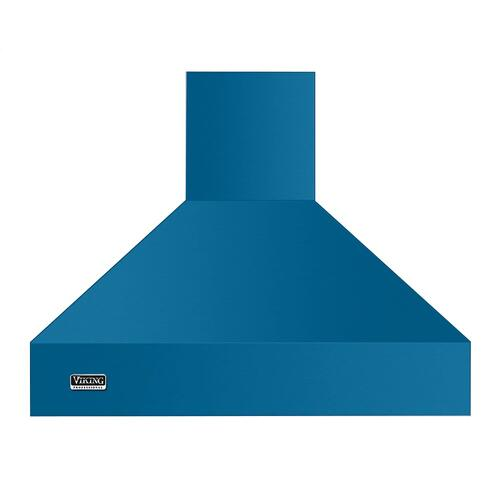 "36"" Wide 18"" High Chimney Island Hood - VCIH Viking 5 Series"