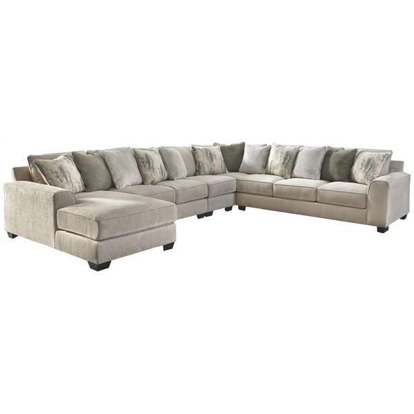 See Details - Ardsley 5-piece Sectional With Chaise