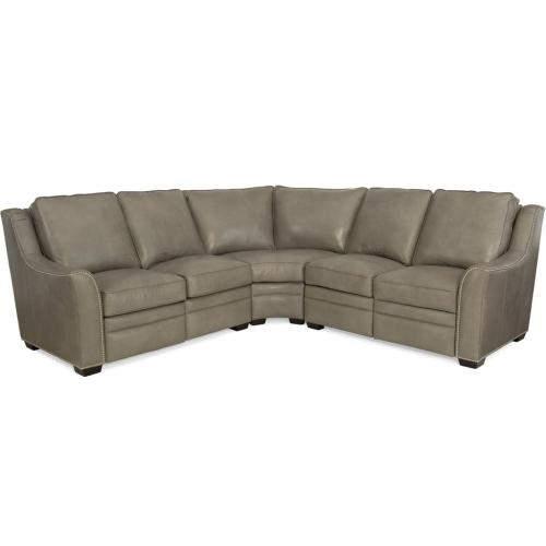 Bradington Young - Kerley Leather Reclining Sectional