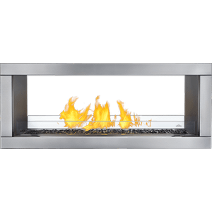 Galaxy See Through Outdoor, See Through, Electrinic Ignition , Stainless Steel , Propane