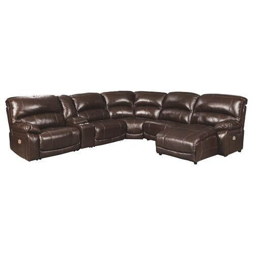 Signature Design By Ashley - Hallstrung 6-piece Power Reclining Sectional With Chaise