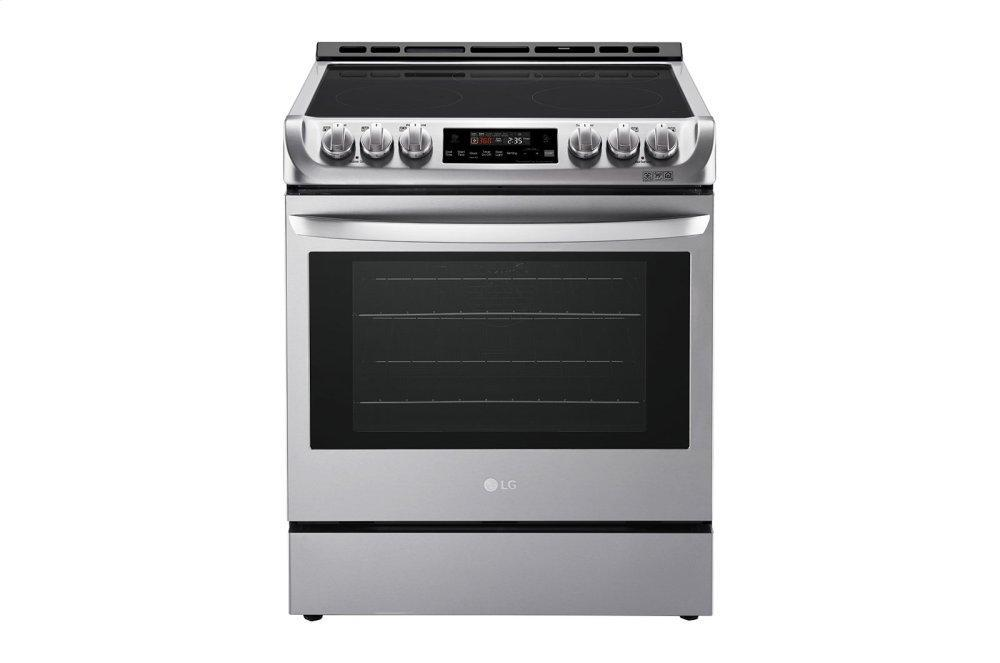 LG Appliances6.3 Cu. Ft. Electric Single Oven Slide-In Range With Probake Convection(r) And Easyclean(r)