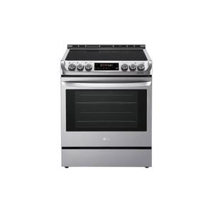 LG Appliances  6.3 cu. ft. Electric Single Oven Slide-in Range with ProBake Convection® and EasyClean®
