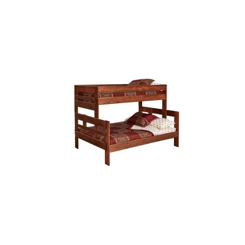 American Wholesale Furniture - Twin/Full Stackable Bunkbed