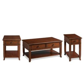 Coffee Table - Burnished Cherry Finish