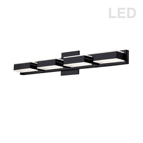 20w LED Wall Vanity, Matte Black Finish