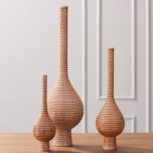 Japan Vase-Orange-Lg