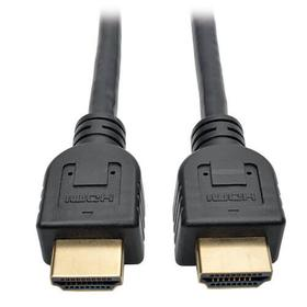 High-Speed HDMI Cable with Ethernet and Digital Video with Audio, UHD 4K, In-Wall CL3-Rated (M/M), 10 ft.