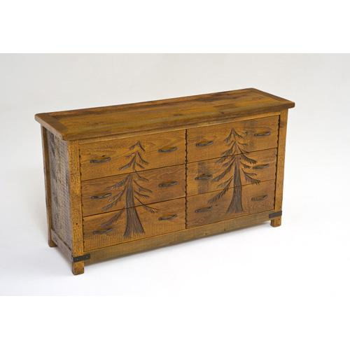 Sequoia 6 Drawer Dresser