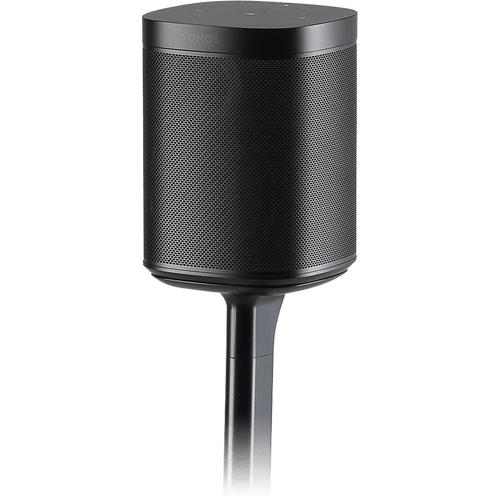 Black- Flexson Adjustable Floor Stand (Pair)