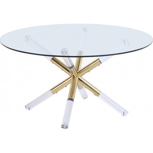 "Mercury Coffee table - 34"" W x 34"" D x 17.5"" H"