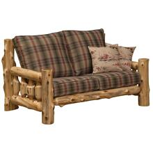 Loveseat - Natural Cedar - Customer Fabric