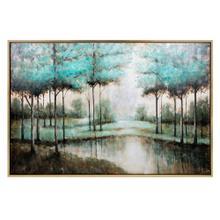 Verdigis Wonder Framed Oil Painting