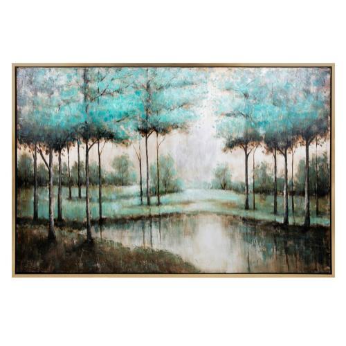 Imax Corporation - Verdigis Wonder Framed Oil Painting