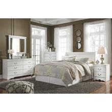 Product Image - Queen Sleigh Headboard With Mirrored Dresser, Chest and Nightstand