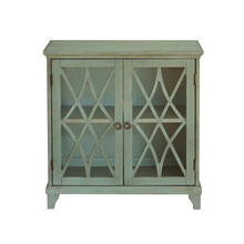 Two Door Chest in Sage