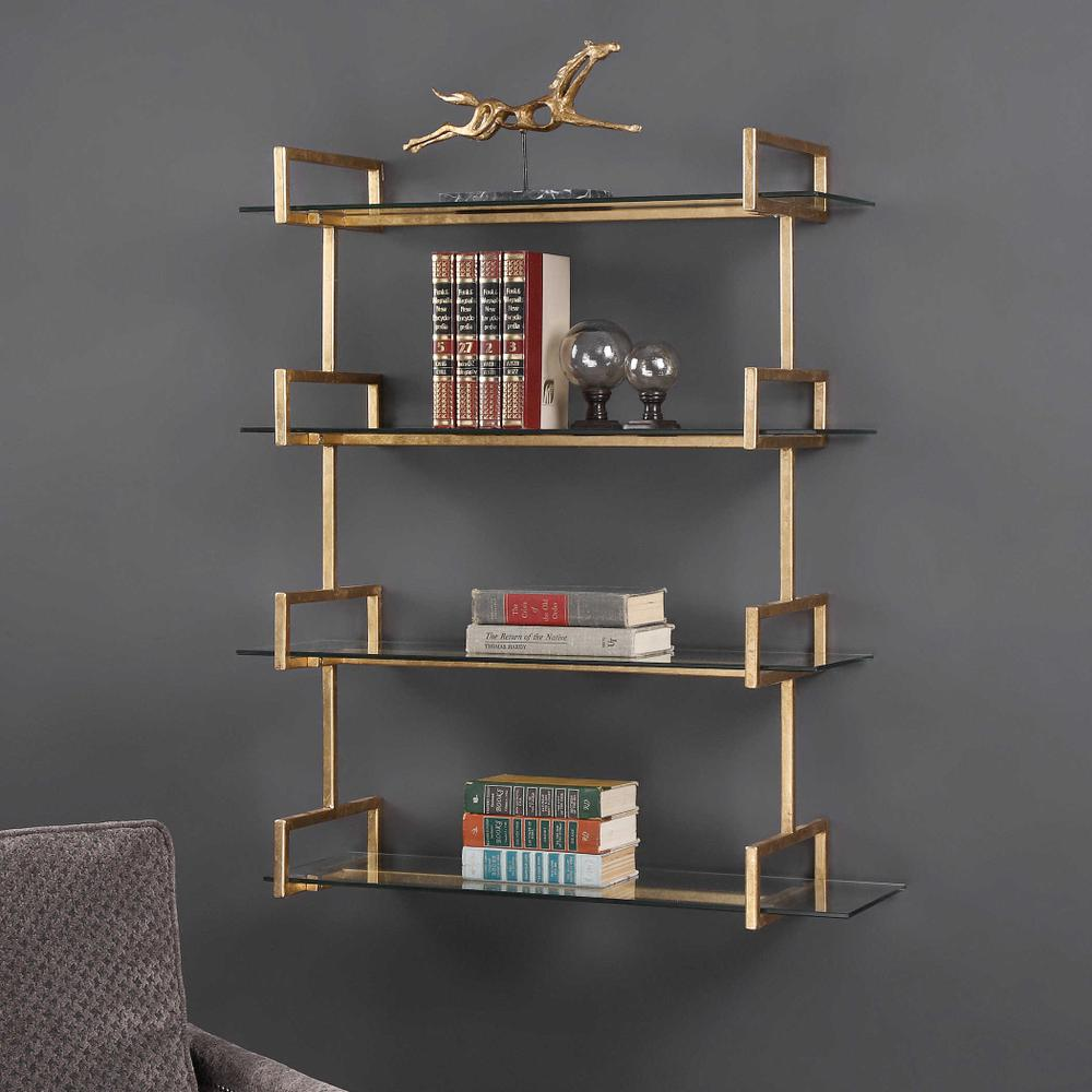 See Details - Auley Wall Shelf