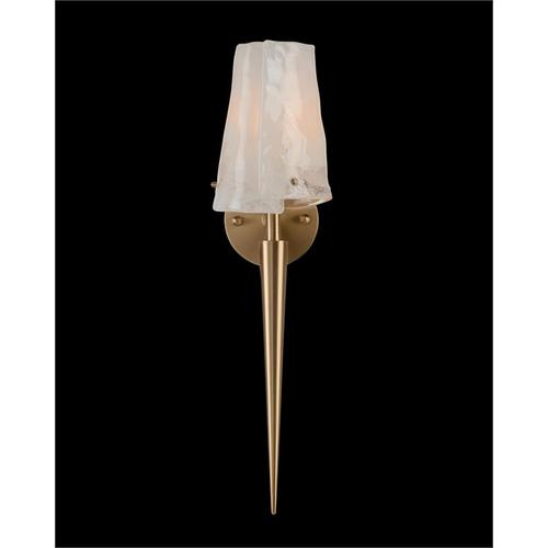 Coffee Bronze Torch Sconce