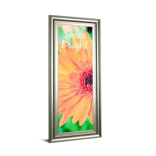 "Classy Art - ""Shine Bright Daisy"" By Susan Bryant Framed Print Wall Art"