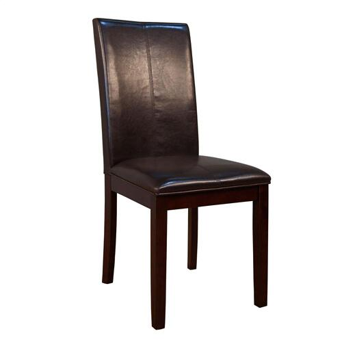 A America - Curved Back Parson Chair-Brown