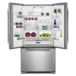 "JennAir RISE 36"" French Door Freestanding Refrigerator"