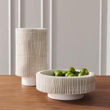 Radiator Vase-Matte White-Tall