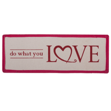 """See Details - """"Do What You Love"""" Peek-a-Boo Tote Insert."""