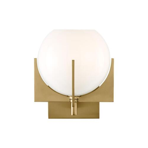 Abbott 1 - Light Sconce Burnished Brass