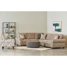 See Details - Merrick Left Corner Sofa in Hand Woven Stone