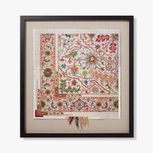 0307690044 Vintage Rug Map Wall Art