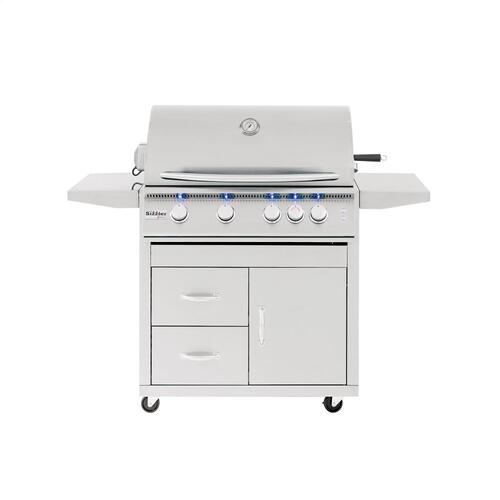 """Summerset Professional Grills - Sizzler Pro 32"""" Freestanding Grill"""