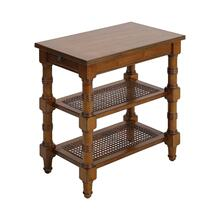 Seneca Falls Accent Table In Warm Oak