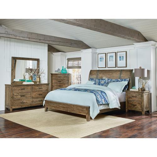 Nelson 6-Drawer Dresser, Rustic Pine