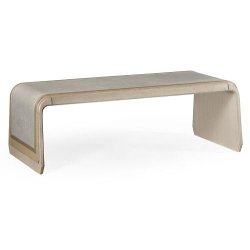 Brown Italian layer coffee table