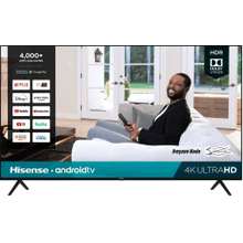 "75"" Class- H65G Series - 4K UHD Hisense Android Smart TV (2020)"
