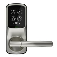 Secure Pro Latch Edition Wi-Fi® Smart Lock with Fingerprint Access & Touchscreen (Satin Nickel)