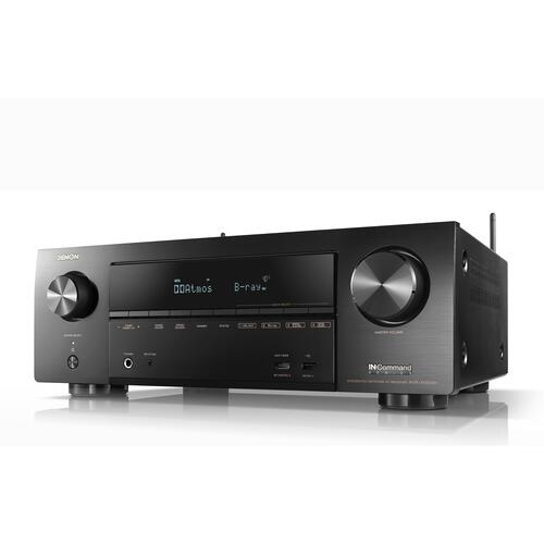 7.2ch 4K Ultra HD AV Receiver with 3D Audio and HEOS Built-in®