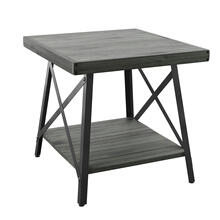 Chandler End Table, Antique Gray T100-1a
