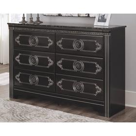Banalski Dresser Dark Brown